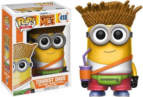 Funko - Dave Tourist figura de vinilo, coleccion de POP, seria Despicable Me 3 (13426)