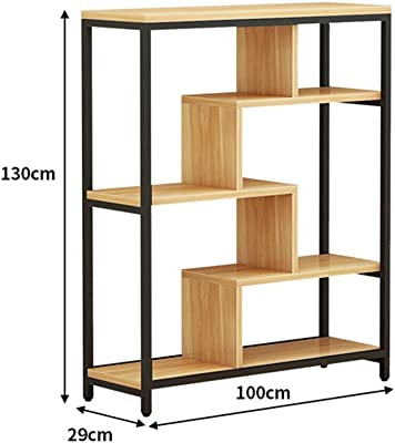 Amazon.com: YNN Estante de pared de madera maciza en forma ...