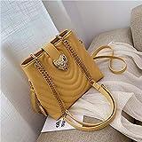 Bolso de mano grande para mujer de marca de lujo Bolso de mano de diseñador de cuero PU de alta calidad para mujer Bolso bandolera de hombro con cierre
