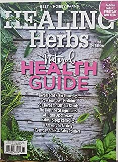 Best of Hobby Farms Healing Herbs Revised 1st Edition 2019