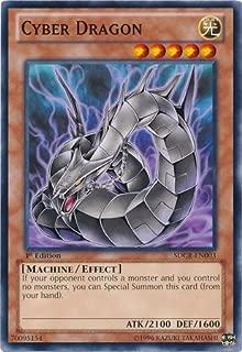 Yu-Gi-Oh! - Cyber Dragon (black) (SDCR-EN003) - Structure Deck: Cyber Dragon Revolution - 1st Edition - Common