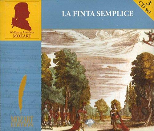 MOZART EDITION - La Finta Semplice - Opera buffa in drei Akten, KV 51 - 3er CD
