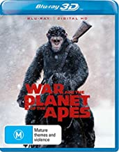 War for the Planet of the Apes 3D Blu-ray   NON-USA Format   Region B Import - Australia