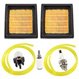 HURI Tune Up Kit for 900777005 Ryobi RY08420 RY08420A RY42WB BP42 Gas 42cc Backpack Blowers Air Filter