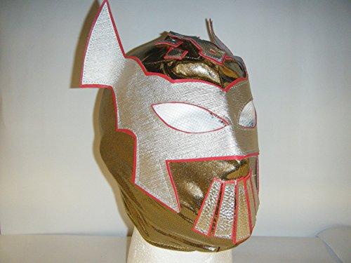 Sin Cara–Gold–Kinder Zip Up Wrestling Maske
