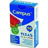 Campus Tizas de colores Surtidas, Cajas de 10