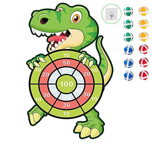 DQMOON Dinosaur Toys,Safe Dart Boar…