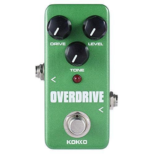 ammoon KOKKO FOD3 Mini Overdrive Pedal tragbare Gitarre Effektpedal