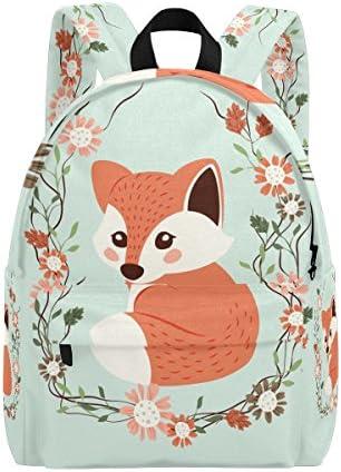 Hengpai Cute Fox School Backpacks Rucksack Animals Student Book Bags Travel Girls product image