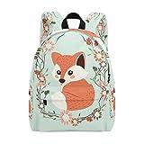 Hengpai Cute Fox School Backpacks Rucksack Animals Student Book Bags Travel Girls