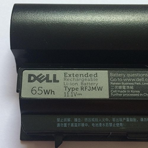 ORIGINAL DELL LATITUDE E6220 E6320 6 CELL 60Wh (EXTENDED) BATTERY