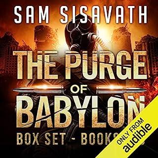 The Purge of Babylon Series Box Set: Books 1-3 audiobook cover art
