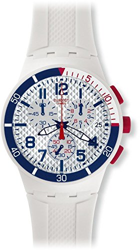 Swatch Reloj de Cuarzo Unisex Speed Up 42 mm