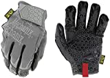 Mechanix Wear: Box Cutter Work Gloves - Built for Box Handling with Padlock No-Slip Silicone Grip Palm, Touch Capable (Large)