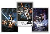 Close Up Star Wars Posterset Filmplakat Episode IV - VI