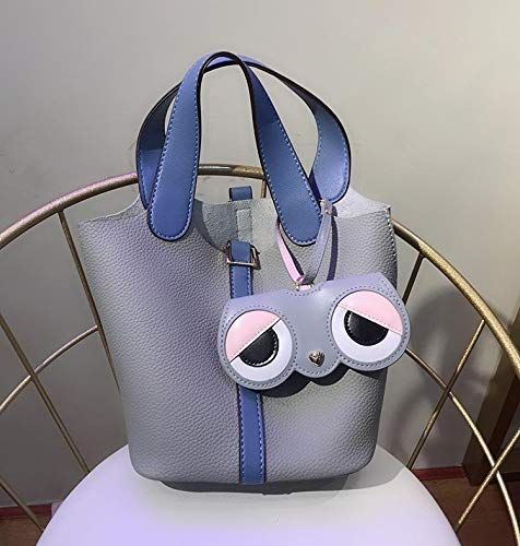 JIAMIN Funda de gafas de sol con diseño de dibujos animados, paquete de viaje, funda para gafas, 1 pieza para mujer a la moda, soporte para bolsa de dijes, accesorios para gafas (color: 1)