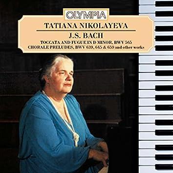 Tatiana Nikolayeva plays Bach