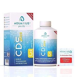 ✅VIELSEITIG: Der CDS-plus Wasserentkeimer wird zur hochwirksamen Bekämpfung von Bakterien, Viren, Pilzen, Sporen, Algen, Milben, Parasiten, Biofilmen und anderen krankmachenden Keimen wie den gefährlichen Legionellen verwendet. Kaufe CDSplus, die bre...