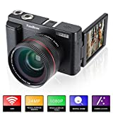 Camara Fotos Full HD 1080P,FamBrow Camara de Video WiFi 24MP Digital...