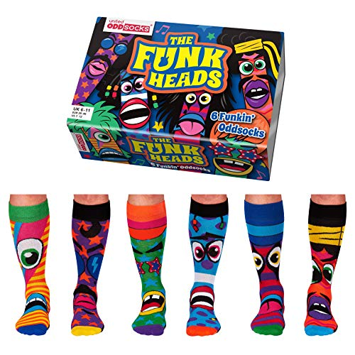 Funk Heads Oddsocks Socken in 39-46 im 6er Set - Strumpf