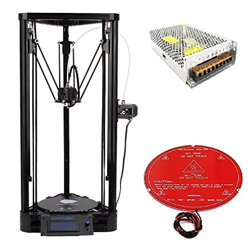 CTC A8 Stampanti 3D, Kit Stampante Desktop 3D Prusa i3, Stampanti 3D fai da te di alta precisione 220 * 220 * 240mm Dimensione di Stampa