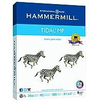 (Letter - Ream, 24Lb) - Hammermill Paper, Tidal Copy Paper, 8.5 x 11 Paper, Letter Size, 11kg Paper, 92 Bright, 1 Ream / 500 Sheets (162300R) Acid Free Paper