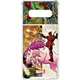 Skinit Clear Phone Case for Galaxy S10 - Officially Licensed Marvel/Disney Deadpool Unicorn Design