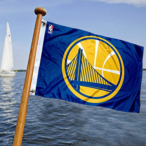 WinCraft Golden State Warriors Boat and Golf Cart Flag