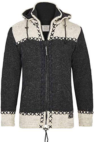 THC Natural Line Gefütterte Schafwoll-Jacke aus Nepal Art.-Nr. 511 (XL)