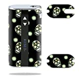MightySkins Skin Compatible with Eleaf iStick 50W – Nighttime Skulls   Protective, Durable, and Unique Vinyl Decal wrap Cover   Easy to Apply, Remove, and Change Styles   Made in The USA