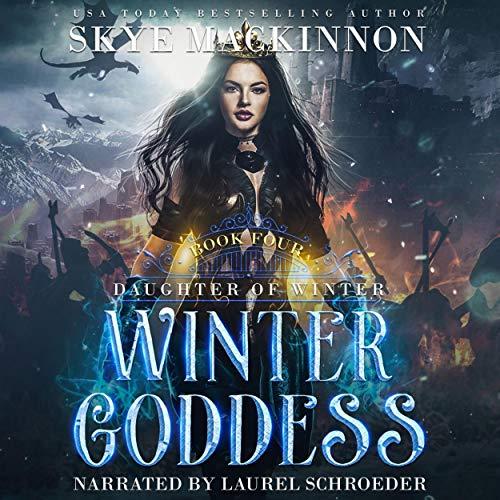 Winter Goddess: A reverse harem romance cover art