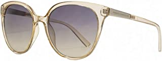 French Connection Womens Slim Oversized Sunglasses - Nude/Grey