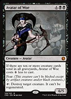 Magic: the Gathering - Avatar of Woe (128/221) - Conspiracy 2: Take the Crown