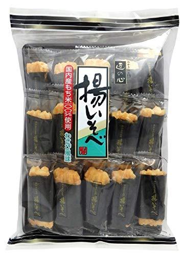 丸彦製菓 揚いそべわさび風味 14本 ×12袋