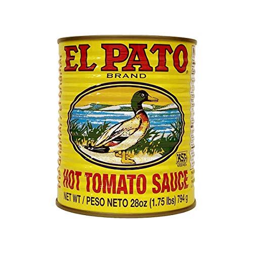 [エルパト] EL PATO ホットトマトソース 28oz / 794g ×12缶セット[並行輸入品]