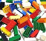 LEGO 100 x Mixed 2x4 Bricks. Random Colours Red, Yellow, Blue, Green, etc. Part 3001