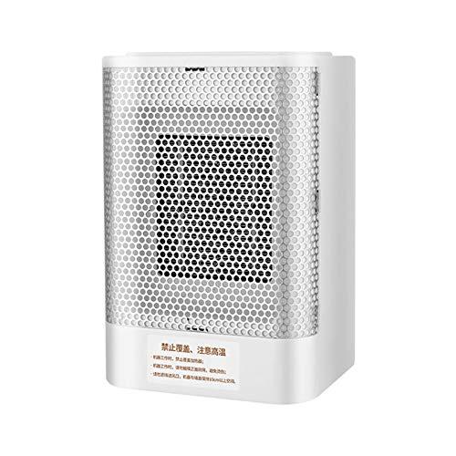 LQQ Tragbare Desktop-Lüfterheizung 800W Persönlicher Keramikraum Elektrische Luftheizung 3s Schnellheizung Überhitzungsschutz und Automatischer Thermostat