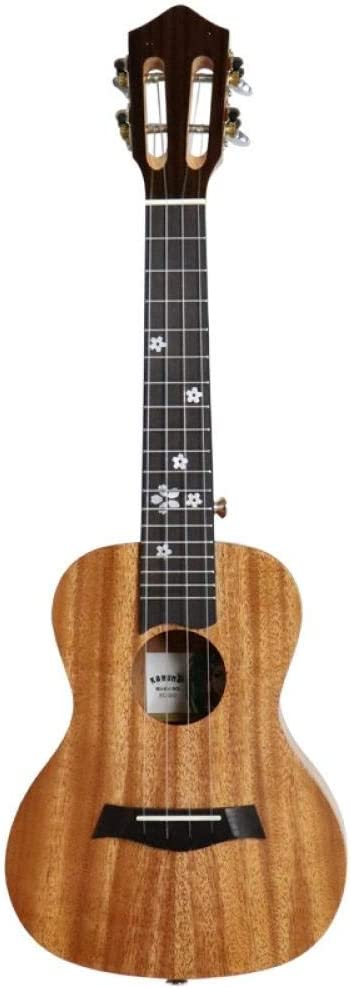 Artesanía de calidad - Ukelele Ukelele de caoba de guitarra de 23 pulgadas-Sección Sakura (cabeza de piano clásica)