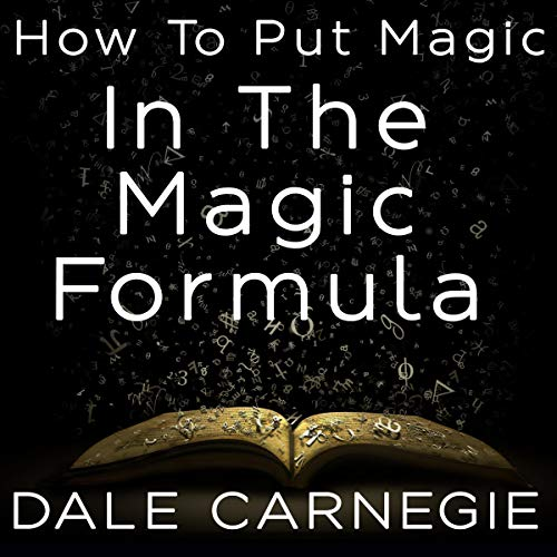How to Put Magic in the Magic Formula  By  cover art