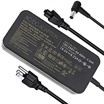 Slim 19.5V 9.23A 180W Laptop Charger,Compatible with Asus ADP-180MB F FA180PM111 ROG G750JM G751JM G750JS G75 G75VW G75VX GL502VT G750JW G750JM G750JX G751JL G751JM G752VL G-Series Gaming Laptop