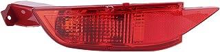 Akozon Left Rear Bumper Fog Light Car Reflector Lamp Fit for FORD FIESTA MK7 2008 ‑ 2016