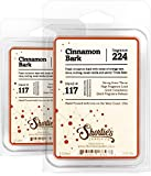 Shortie's Candle Company Cinnamon Bark Wax Melts Multi Pack - Formula 117-2 Highly Scented Bars - Made with Essential & Natural Oils - Bakery & Food Air Freshener Cubes Collection