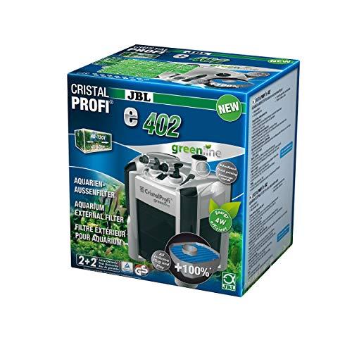 JBL Außenfilter für Aquarien von 40-120 Litern, CristalProfi e402 greenline