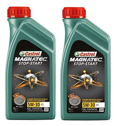 Price comparison product image Castrol Magnatec Stop-Start 5W-30 C3 Full Synthetic 2 Litres