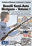 American Gunsmithing Institute Armorer's Course Video on DVD for Benelli Semi-Auto Shotguns - Volume I - Technical Instructions for Disassembly, Cleaning, Reassembly and More