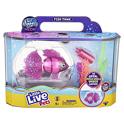 Little Live Pets - Lil' Dippers Fish Tank: Splasherina| Interactive...