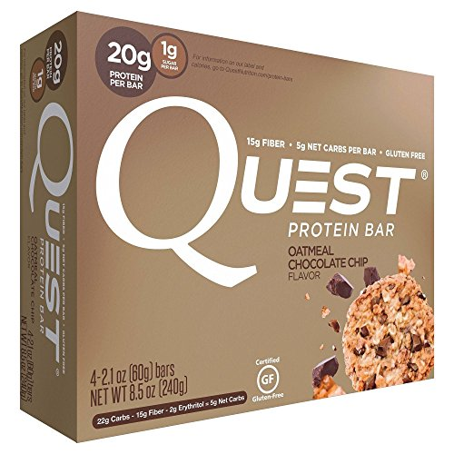 quest chocolate chip protein bars - 2