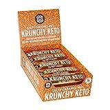 Crunchy Keto Bar (15x35g) - High Fibre Low Carb All Natural No Sugar Added - Salty Caramel Nut