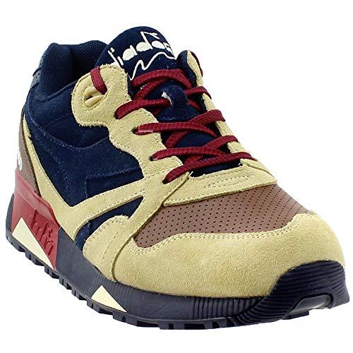 Diadora Mens N9000 USA Casual Sneakers, Blue, 9