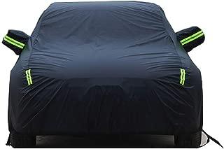 Copriauto Compatibile Con Audi Q3//Q5 Hybrid//Q7 e-tron quattro//Q8//SQ5//e-tron Impermeabile Mobile Garage Antigelo Gelo Traspirante Antipolvere Antigraffio Panno Di Oxford Nastro Riflettente Telone Per